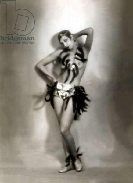 Josephine Baker, circa 1927 in France