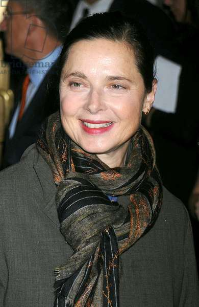 Isabella Rossellini at arrivals for ALL MY SONS Opening Night on Broadway, Gerald Schoenfeld Theatre, New York, NY, October 16, 2008. Photo by: Kristin Callahan/Everett Collection