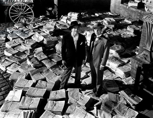 CITIZEN KANE, Orson Welles, Joseph Cotten, 1941
