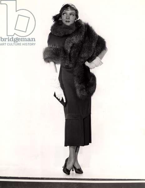 CLAUDETTE COLBERT, Paramount Pictures, 1935