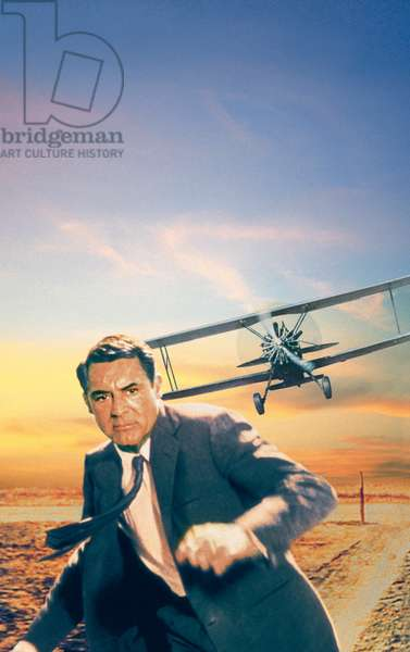 NORTH BY NORTHWEST, Cary Grant, 1959.