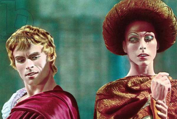 Romeo et Juliette (ballet filme 1966): ROMEO AND JULIET, from left: Rudolf Nureyev, Margot Fonteyn, 1966