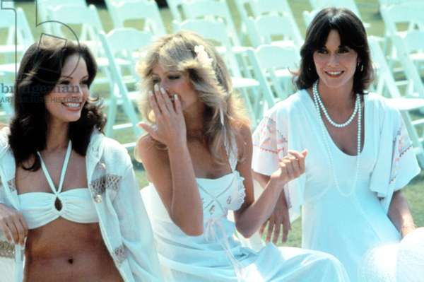 CHARLIE'S ANGELS, Kate Jackson, Farrah Fawcett, Jaclyn Smith, 1976-1981