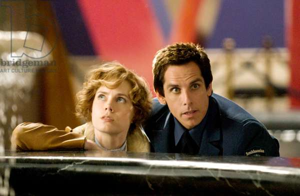 NIGHT AT THE MUSEUM: BATTLE OF THE SMITHSONIAN, (aka NIGHT AT THE MUSEUM 2), from left: Amy Adams, as Amelia Earhart, Ben Stiller, 2009. Ph: Doane Gregory,/TM & Copyright ©20th Century Fox Film Corp. All rights reserved./Courtesy Everett Collection