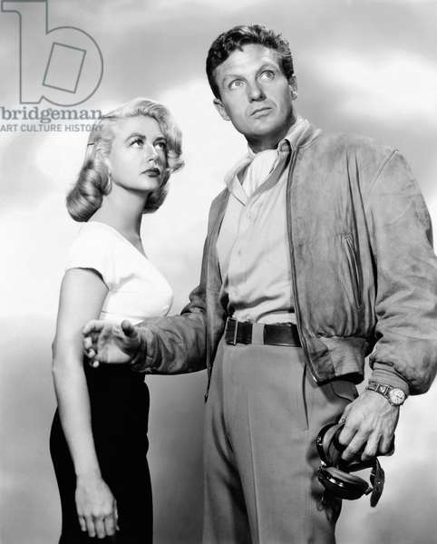 La ronde de l'aube: THE TARNISHED ANGELS, from left, Dorothy Malone, Robert Stack, 1958