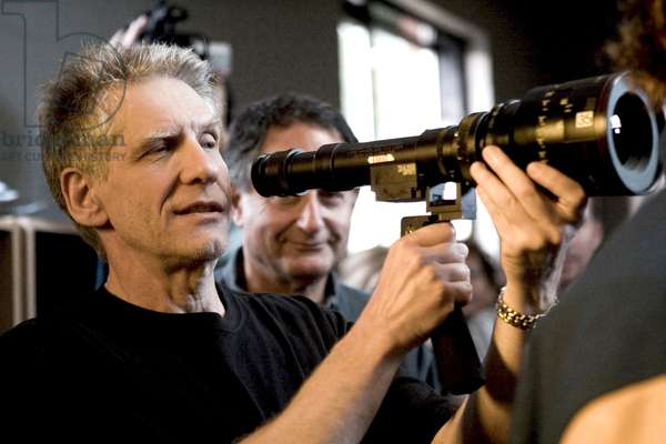 A HISTORY OF VIOLENCE, director David Cronenberg on set, 2005, (c) New Line/courtesy Everett Collection