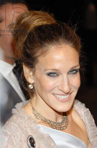 Sarah Jessica Parker at arrivals for Opening Night Party for Mobile Art: CHANEL Contemporary Art Container by Zaha Hadid, Rumsey Playfield in Central Park, New York, NY, October 21, 2008. Photo by: Desiree Navarro/Everett Collection