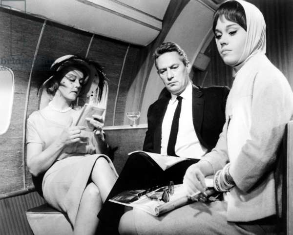 IN THE COOL OF THE DAY, Angela Lansbury, Peter Finch, Jane Fonda, 1963.