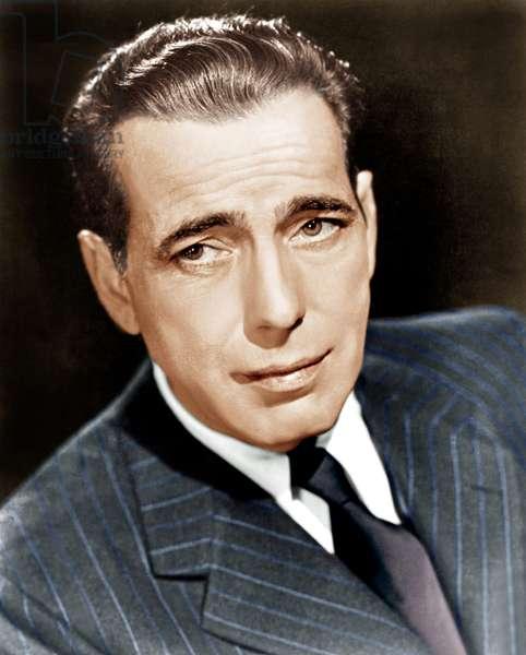 Humphrey Bogart, Warner Brothers publicity shot, ca. 1930s