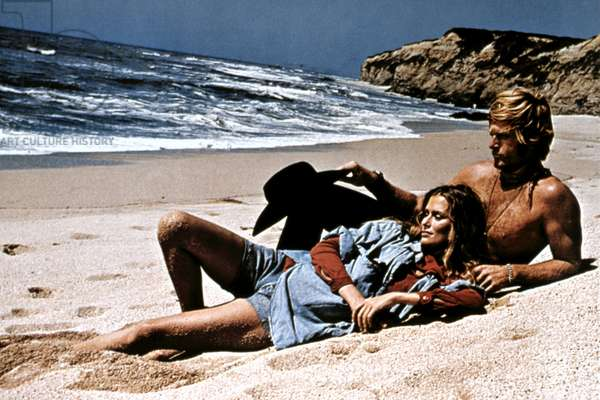 LITTLE FAUSS AND BIG HALSY, Lauren Hutton, Robert Redford, 1970