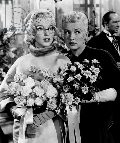 Comment epouser un millionnaire: HOW TO MARRY A MILLIONAIRE, Marilyn Monroe, Betty Grable, 1953, TM & Copyright (c) 20th Century Fox Film Corp. All rights reserved.
