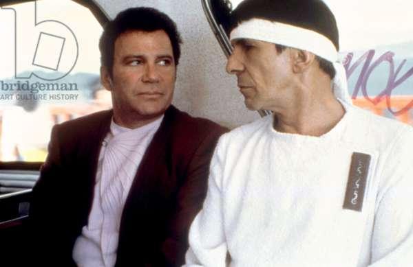 STAR TREK IV: THE VOYAGE HOME, William Shatner, Leonard Nimoy, 1986. ©Paramount/courtesy Everett Collection
