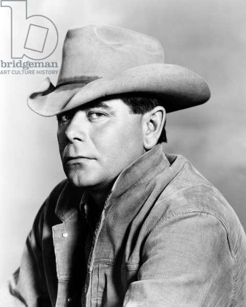 COWBOY, Glenn Ford, 1958