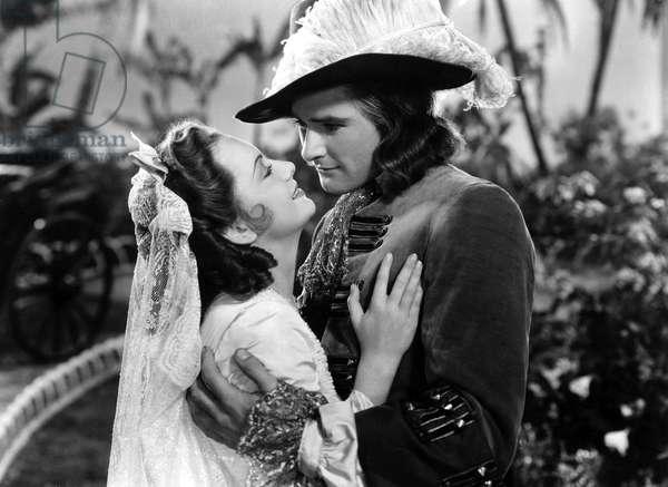 Captaine Blood: CAPTAIN BLOOD, Olivia de Havilland, Errol Flynn, 1935