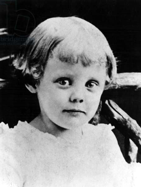 JUNE ALLYSON (born Ella Geisman, 1917) childhood photo.