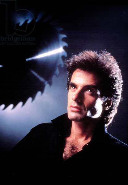DAVID COPPERFIELD, in his TV special, (David Copperfield: Bermuda Triangle Challenge), 3/12/88.