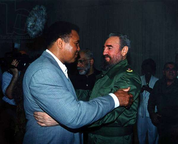 FIDEL, Muhammad Ali, Fidel Castro, 2001, (c) First Run Features/courtesy Everett Collection