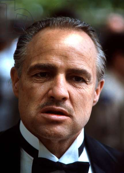 THE GODFATHER, Marlon Brando, 1972.