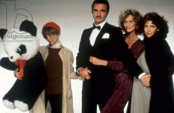 PATERNITY, Beverly D'Angelo, Burt Reynolds, Lauren Hutton, Elizabeth Ashley, 1981, (c) Paramount/courtesy Everett Collection