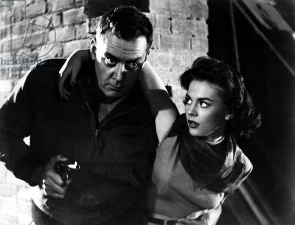 A CRY IN THE NIGHT, Raymond Burr, Natalie Wood, 1956