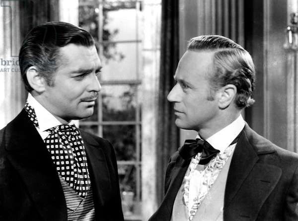 GONE WITH THE WIND, Clark Gable, Leslie Howard, 1939