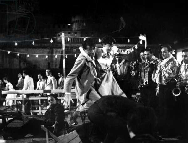 Vacances romaines: ROMAN HOLIDAY, Gregory Peck, Audrey Hepburn, 1953.
