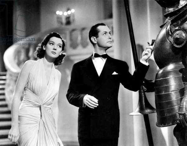FAST AND LOOSE, Rosalind Russell, Robert Montgomery, 1939