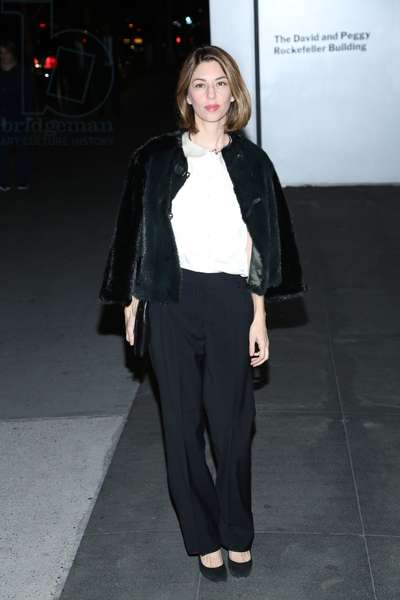 Sofia Coppola at arrivals for The Museum of Modern Art Film Benefit: A Tribute to Tilda Swinton, MoMA Museum of Modern Art, New York, NY November 5, 2013. Photo By: Andres Otero/Everett Collection