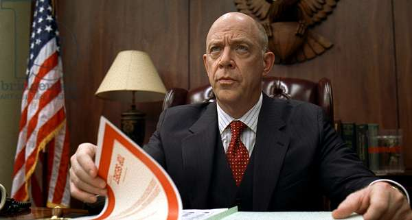 BURN AFTER READING, J.K. Simmons, 2008. ©Focus Features/courtesy Everett Collection