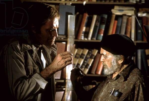 SOYLENT GREEN, Charlton Heston, Edward G. Robinson, 1973