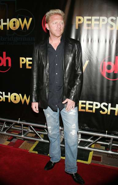 Boris Becker at arrivals for PEEPSHOW Opening Night, Planet Hollywood Resort and Casino, Las Vegas, NV April 18, 2009. Photo By: James Atoa/Everett Collection