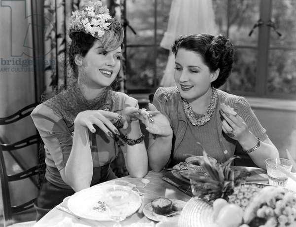 Femmes: THE WOMEN, Rosalind Russell, Norma Shearer, 1939