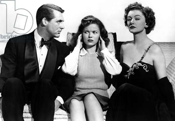 THE BACHELOR AND THE BOBBY-SOXER, Cary Grant, Shirley Temple, Myrna Loy, 1947