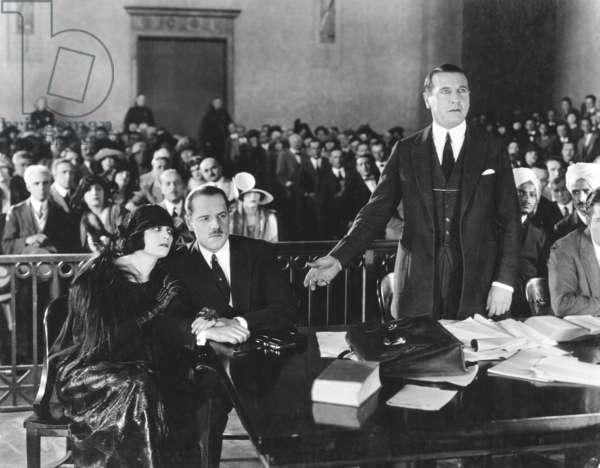 THE CHEAT, foreground from left: Pola Negri, Jack Holt, Richard Wayne, 1923