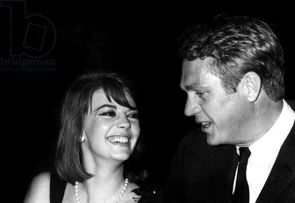 Natalie Wood et Steve McQueen