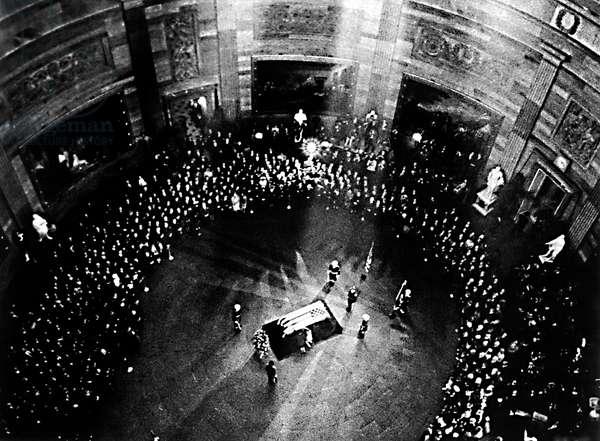 Obseques de JFK : le Capitol
