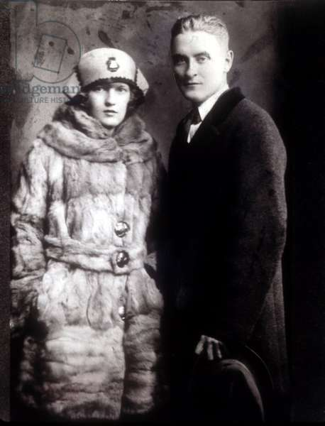 Zelda Fitzgerald, F. Scott Fitzgerald, 1921
