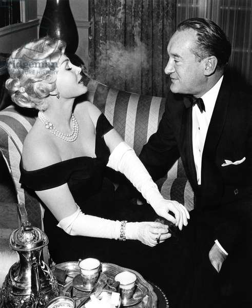 DEATH OF A SCOUNDREL, Zsa Zsa Gabor, George Sanders, 1956