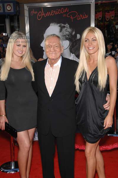 Crystal Harris, Hugh Hefner, Anna Sophia Berglund at arrivals for 2011 TCM Classic Film Festival Opening Night, Grauman's Chinese Theatre, Los Angeles, CA April 28, 2011. Photo By: Michael Germana/Everett Collection