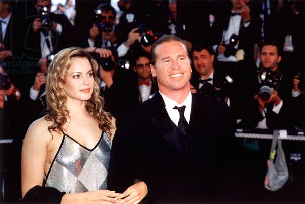 Val Kilmer and date at Cannes Film Festival, 1999, by Thierry Carpico