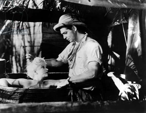 RED DUST, Jean Harlow, Clark Gable, 1932
