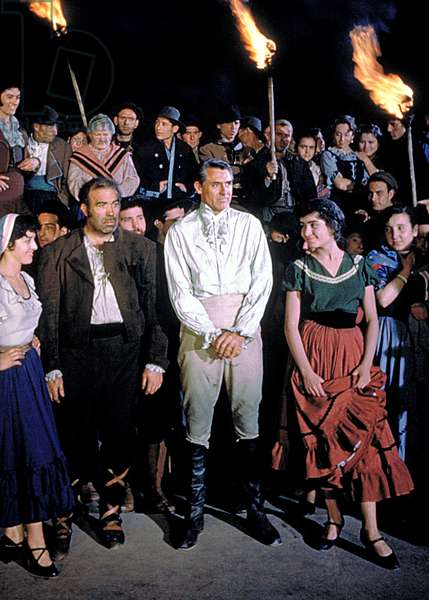 THE PRIDE AND THE PASSION, Cary Grant (center), 1957