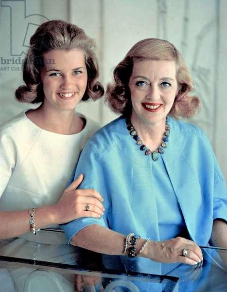 Bette Davis et Barbara Davis