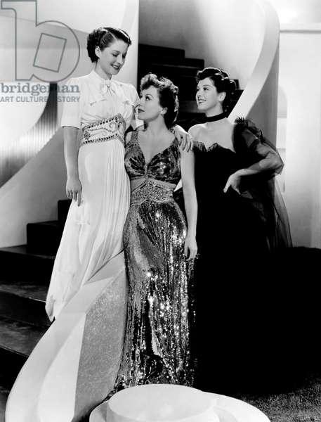 Femmes: THE WOMEN, Norma Shearer, Joan Crawford, Rosalind Russell, 1939