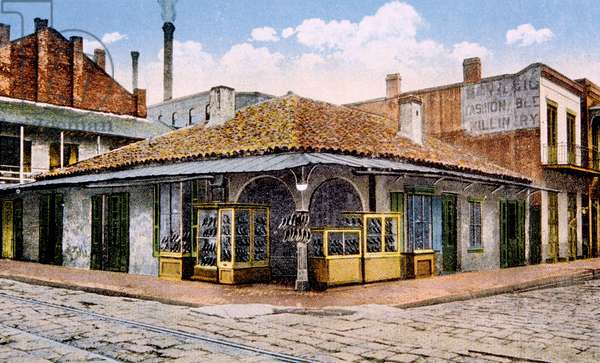 New Orleans: The oldest building in New Orleans.
