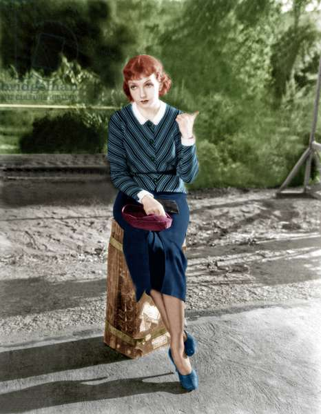 IT HAPPENED ONE NIGHT, Claudette Colbert, 1934: IT HAPPENED ONE NIGHT, Claudette Colbert, 1934