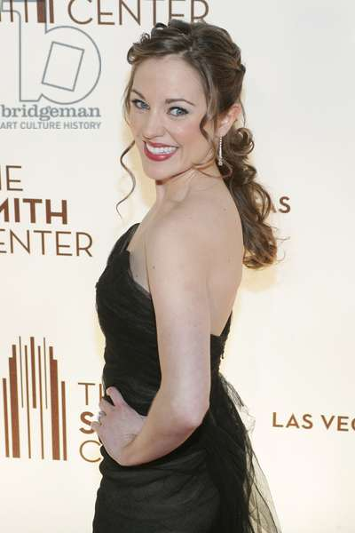 Laura Osnes at arrivals for Opening Night at the Smith Center for the Performing Arts, 361 Symphony Park Ave, Las Vegas, NV March 10, 2012. Photo By: James Atoa/Everett Collection