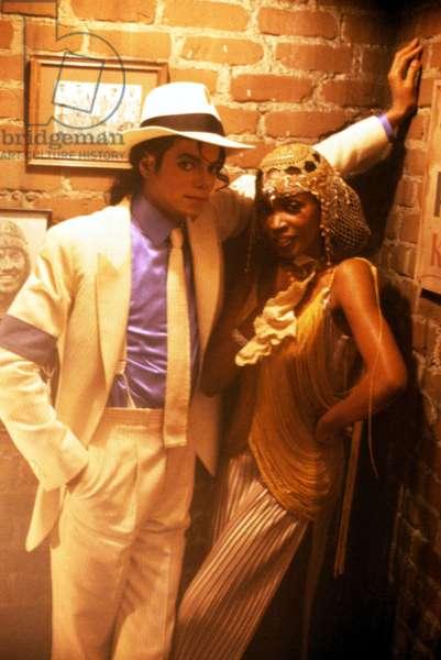MOONWALKER, Michael Jackson (left), 1988