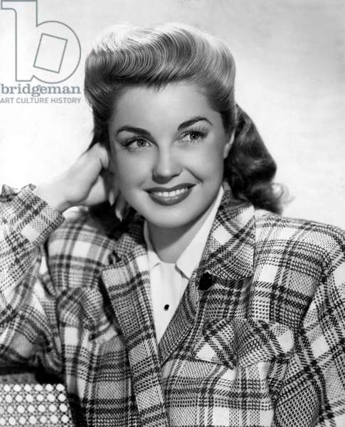 EASY TO WED, Esther Williams wearing a plaid jacket, 1946.