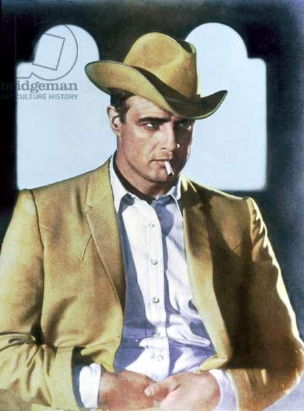 THE CHASE, Marlon Brando, 1966, cigarette